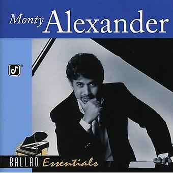 Monty Alexander - Ballad Essentials [CD] USA import