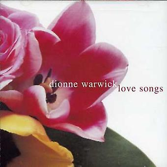 Dionne Warwick - Love Songs [CD] USA import
