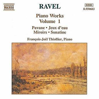 M. ラヴェル - ラヴェル: ピアノ作品集 1 [CD] USA 輸入