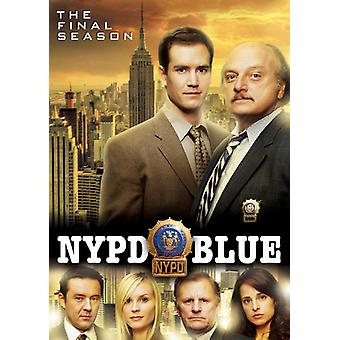 NYPD Blue: The Final Season [DVD] USA import