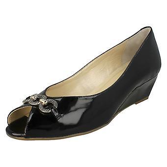 Ladies Van Dal Smart Peep Toe Shoes Tampa