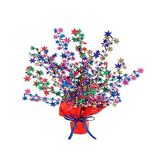 Star Gleam 'N' Burst Centrepiece Multi-Coloured (Quantity 1)