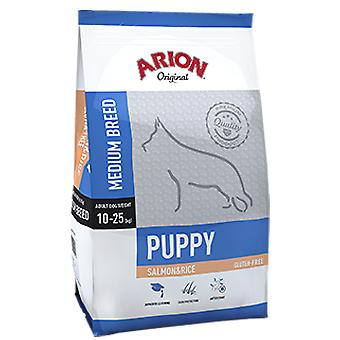 Arion Original Salmon & Rice Puppy Medium (Dogs , Dog Food , Dry Food)