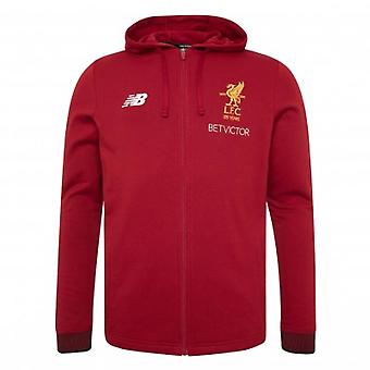 2017-2018 Liverpool Travel Hoody (Red Pepper) - Kids