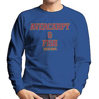 Abercarpie og fisk Abercrombie og Fitch stil menns genser