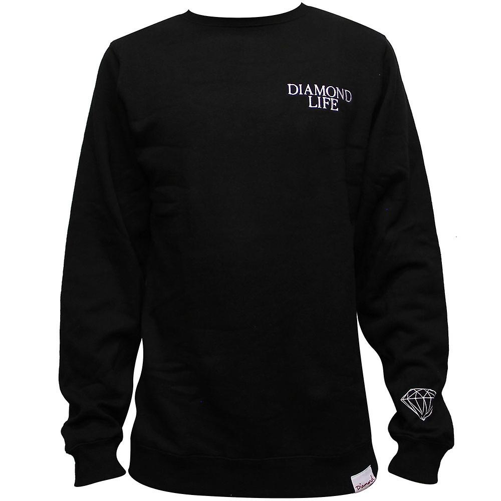 Diamond Supply Co Diamond Life Sweatshirt Black