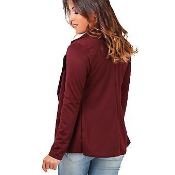 KRISP Womens Ponte Tailored Blazer
