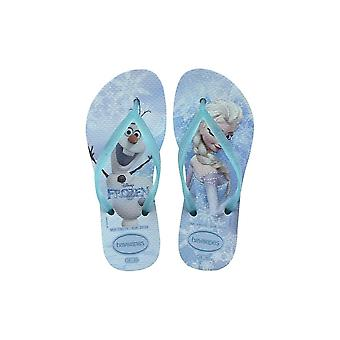 Havaianas Kids Slim Frozen - Ice Blue 0642