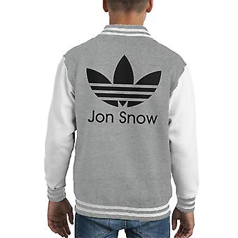 Jon Snow Adidas Logo Spiel der Throne Kid Varsity Jacket