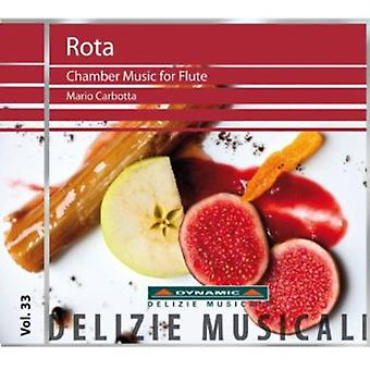 Nino Rota - Rota: Chamber Music for Flute [CD] USA import