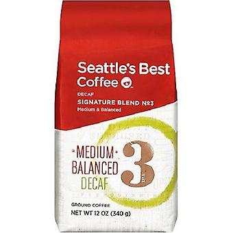 Seattle's Best Coffee Level 3 Decaf Ground