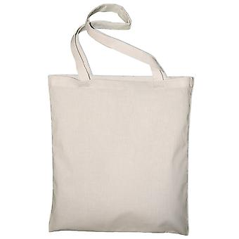 Jassz Bags Classic Long Handle Canvas Tote Shopper Bag
