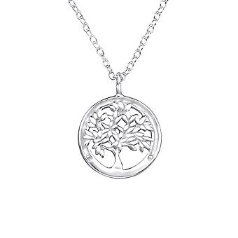 Tree Of Life - 925 Sterling Silver Plain Necklaces
