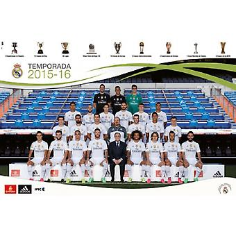 Real Madrid - Team 15 Poster Poster Print