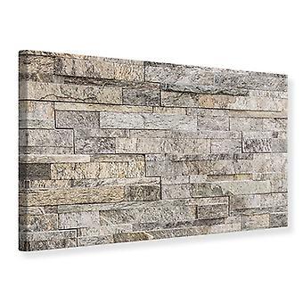 Lærred Print elegante sten mur