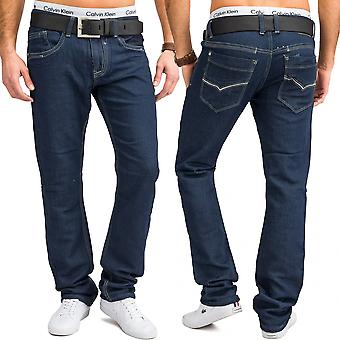New men's jeans pants Jogg denim stretch JoggJeans FLEX BLUE