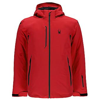 Spyder LEGEND Vanqysh men's ski jacket Red