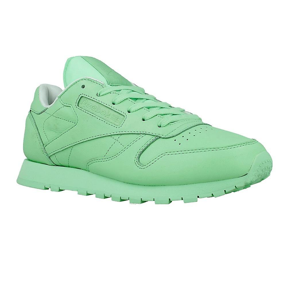 3915ca35f52897 Reebok Classic Leather Pastels X Spirit Green BD2773 universal all all all  year Chaussure s   Emballage Solide d5994d