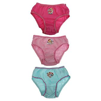 Disney Princess Childrens Girls Cotton Briefs (Pack Of 3)