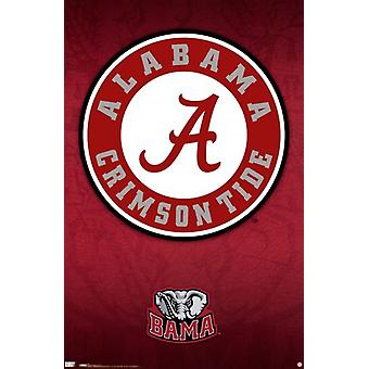 University of Alabama - Logo 10 Poster Print