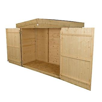 Forest Garden Pressure Treated Shiplap Apex Large Outdoor Store
