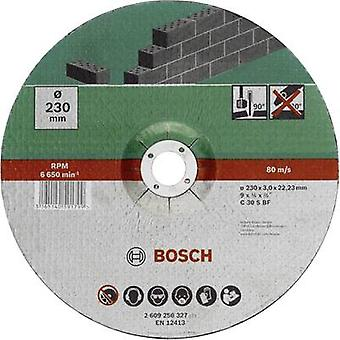 Cutting disc with depressed centre, stone Bosch Accessories 2609256325 Diameter 125