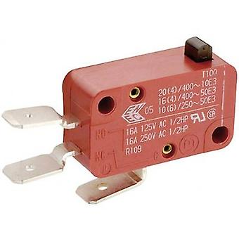 Microswitch 250 V AC 16 A 1 x On/(On) Marquardt 01