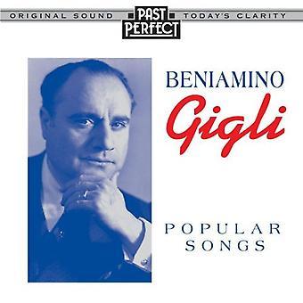 Gigli: Populære sange fra 1926-1940 [Audio CD] Gigli, Beniamino