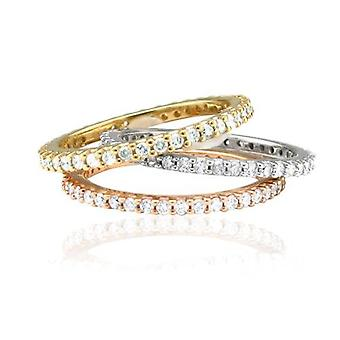 .60CT Diamond Eternity Ring 14K White, Yellow, Or Rose Gold