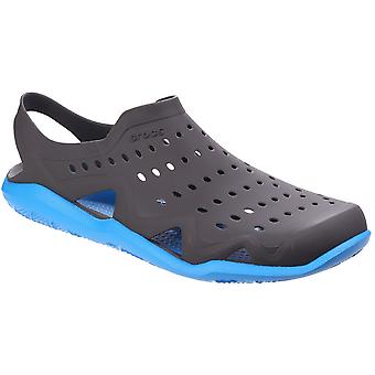 Crocs Mens Swiftwater Wave Athletic Durable Lightweight Clog Sandals