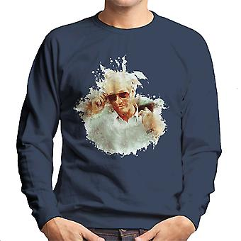 Paul Newman At Cannes Film Festival 1987 Men's Sweatshirt