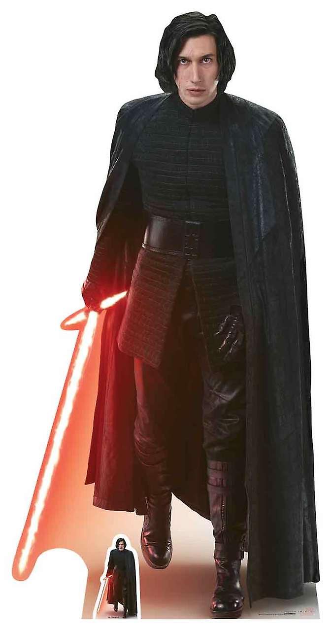 Kylo Ren Star Wars la dernière découpe de carton Jedi LifeTaille