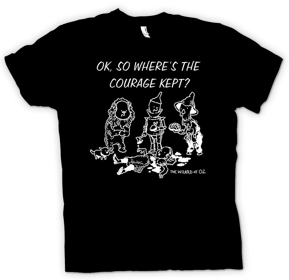 Womens T-shirt - Wizard Of Oz - Funny Cartoon