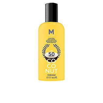 Mediterraneo coco Sun protetor solar escuro bronzeamento Spf50 100ml Unisex