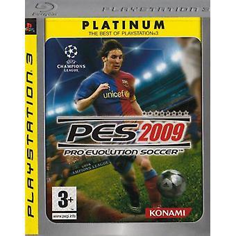 Pro Evolution Soccer 2009 - Platinum editie (PS3)