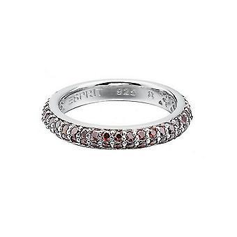 ESPRIT röd damer ring silver zirconia elegans ESRG91667E1