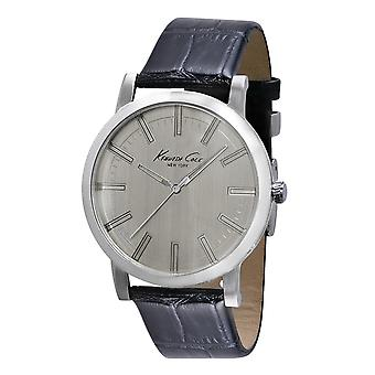 Kenneth Cole New York men's wrist watch analog leather 10008089 / KC1931