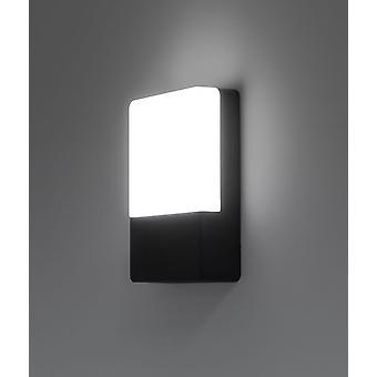LED Wall lamp taro 10W 6300 K IP54 grey 10760