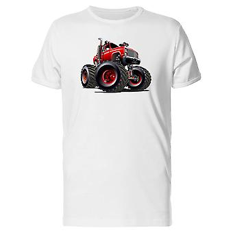 Red Monster Truck Tee Men's -Image by Shutterstock