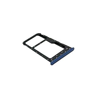 For Huawei P smart repair cards Halter SIM tray slide holder Blue replacement