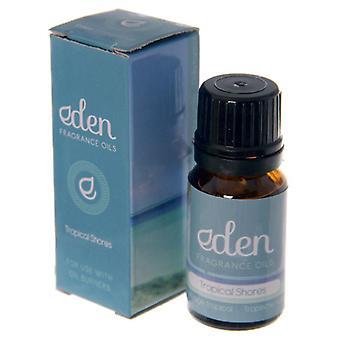 Las costas tropicales Eden gama fragancia aceite 10ml
