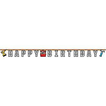 Home improvement of DIY fans letter Garland 1 piece children birthday theme party party birthday