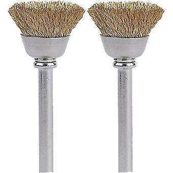 Dremel Brass brush 13 mm (536) 26150536JA 2 p