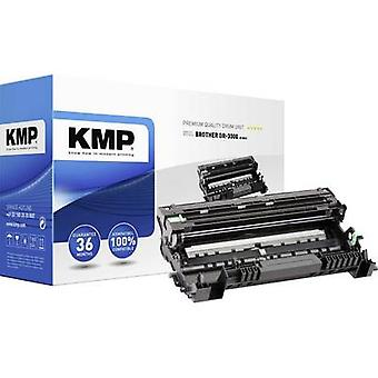 KMP Drum replaced Brother DR-3300, DR3300 Compatible Black 30000 pages B-DR21