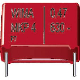 WIMA MKP4J026804C00KSSD 1 dator MKP tunn film kondensator radiella leda 0,068 µF 630 Vdc 20% 15 mm (L x b x H) 18 x 6 x 12,5 mm