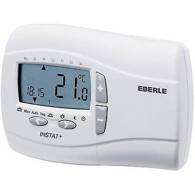 Mode de 24h Eberle Instat Plus 3 R couverte thermostat montage en Surface 7 jusqu& 039;à 32 ° C