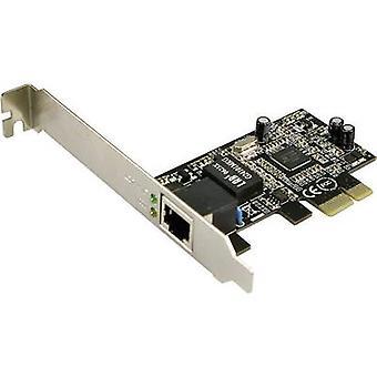 Tarjeta de red 1 Gbit/s LogiLink PC0029A PCI-Express, LAN (10/100 /