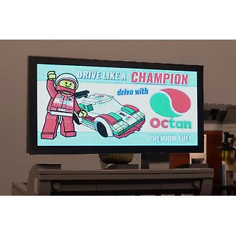 Brickstuff Octan Racing Animated Billboard - KIT23-OC