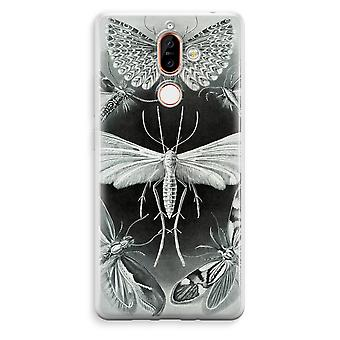 Nokia 7 Plus Transparent Case - Haeckel Tineida