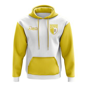 Vatican City Concept Country Football Hoody (White)